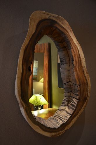 live edge wood, interior design, window