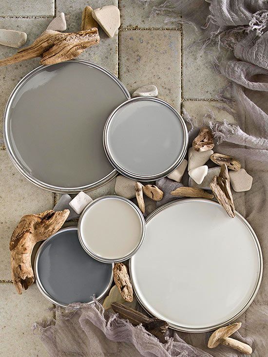 Gray Paint Pallet