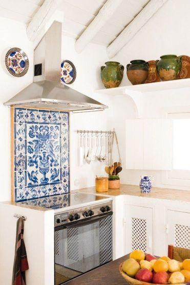 backsplash, mexican tile, pattern