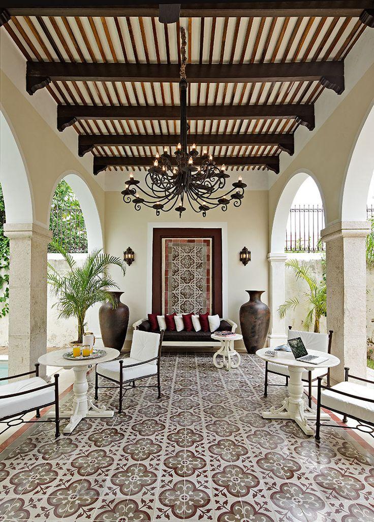 Exterior Tile, Pattern, Spanish Tile