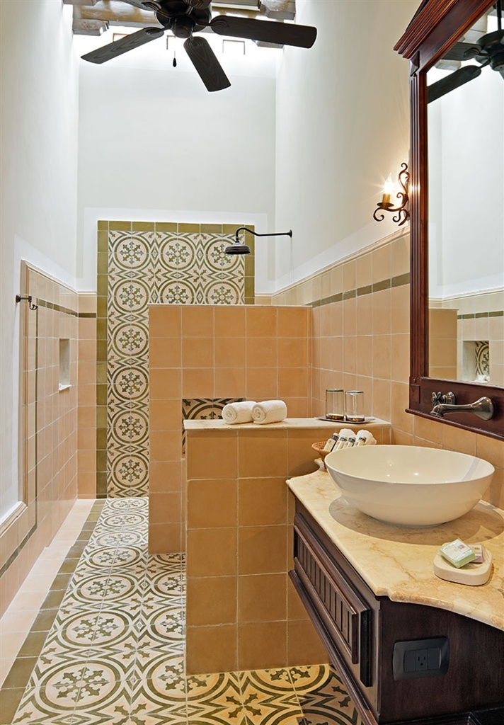 Bathroom Tile, Pattern, Spanish Tile