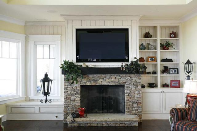 Fireplace Faux Pas What To Do With Your Television Interiors By