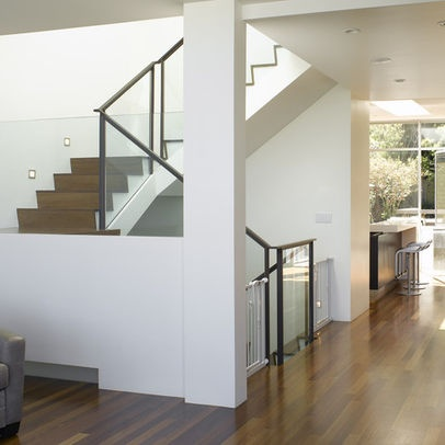 Stairs, Modern Architecture, Baseboard